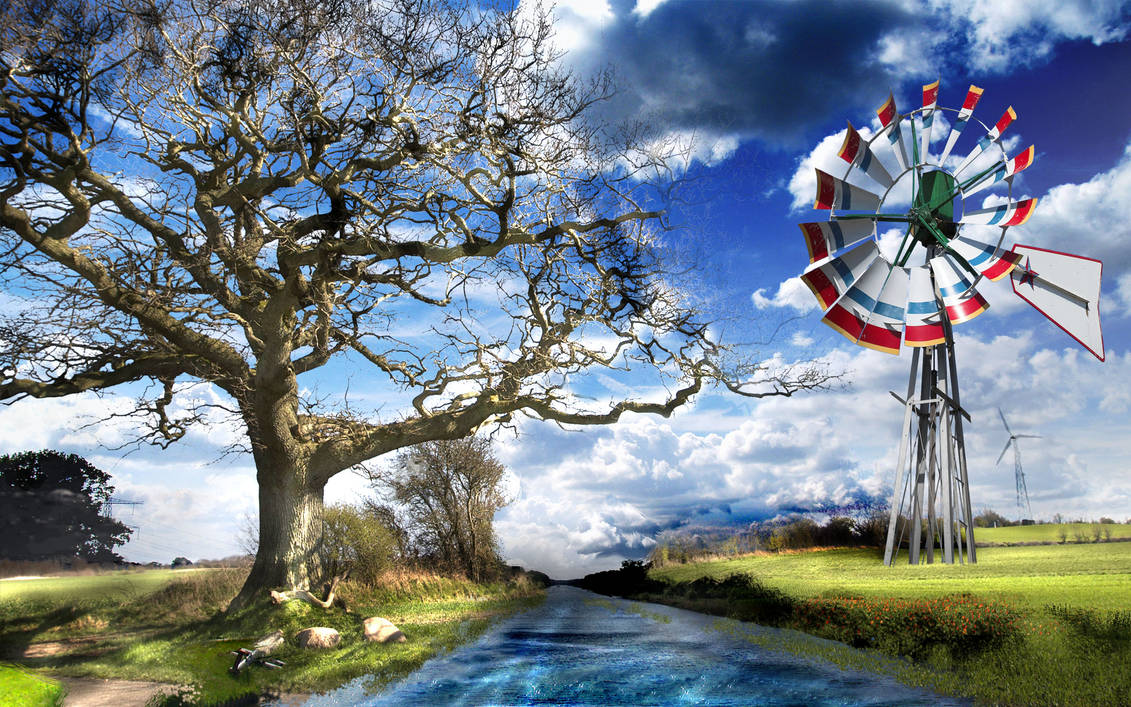 Wind POWER by CoryAmedia