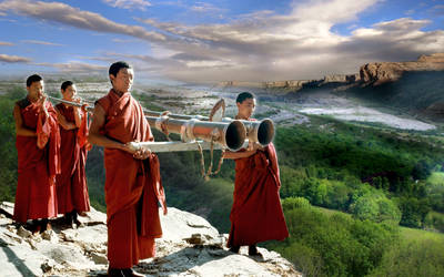 Monks by CoryAmedia