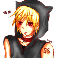 96Neko - Sketch by Pinocchio-kun