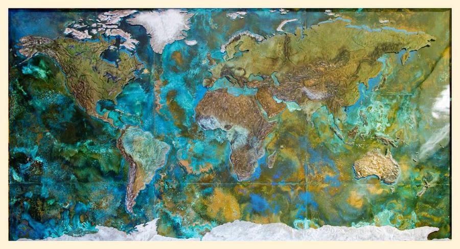 World Map by shanti1971