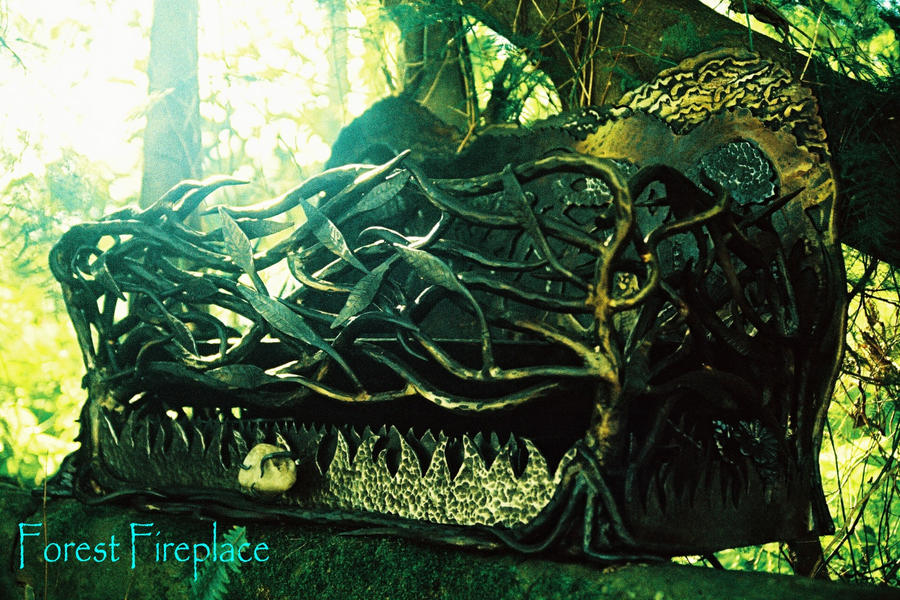 Forest Fireplace By Shanti1971 On Deviantart