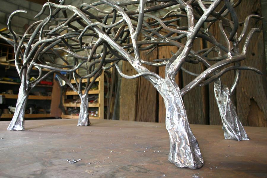 tree table no 8 - detail by shanti1971
