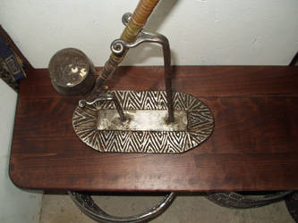 opium pipe stand by shanti1971
