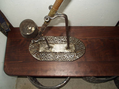 opium pipe stand