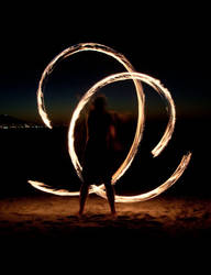 more fire poi in the Cape by shanti1971
