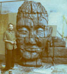 polyurethane Buddha