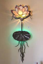 lotus light - detail of metal by shanti1971