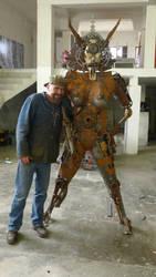 scrap steel woman 3 scale by shanti1971