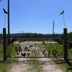new gate for the farm by shanti1971