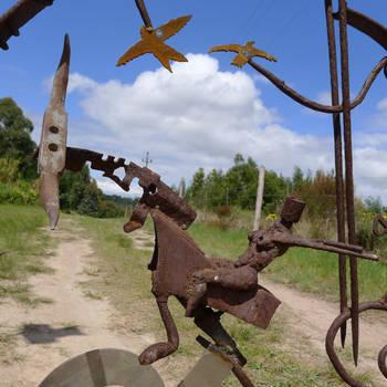 farm gate detail 1 by shanti1971