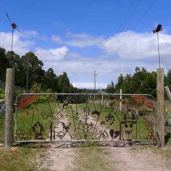 farm gate detail 2 by shanti1971