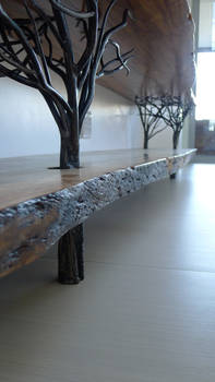 Long tree table 3m