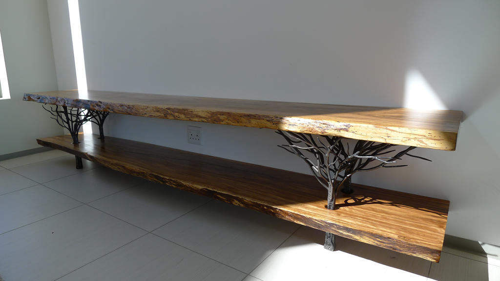 Long tree table 3m front by shanti1971 on deviantart for Table 3m long
