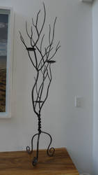 tree branch candle holder #2 by shanti1971