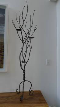 tree branch candle holder #2