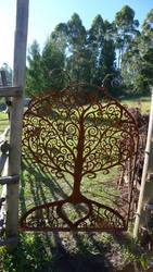 garden gate - tree of life by shanti1971