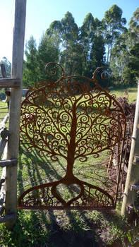 garden gate - tree of life