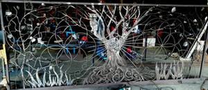 Tree of life gate - unpainted WIP by shanti1971