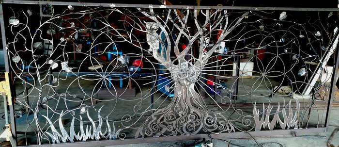 Tree of life gate - unpainted WIP