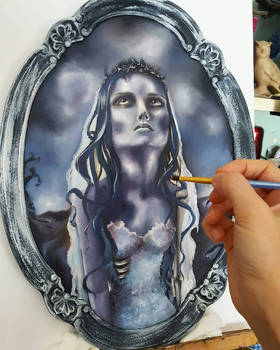 The Corpse Bride on the making