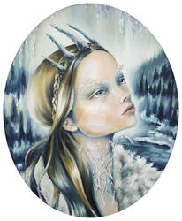 The Snow Queen (unframed version) Zelyss