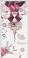 Alice in Wonderland by froilyan