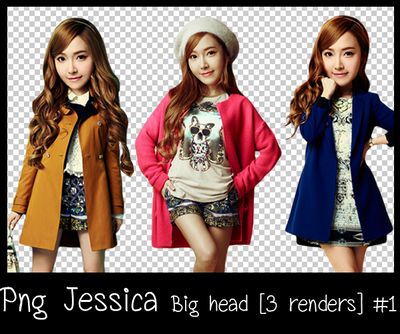 Png Jessica Big head [3 renders] #1 by lagsiga