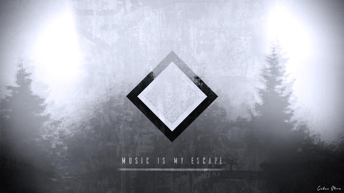 Music Is My Escape Wallpaper By CallumStorm