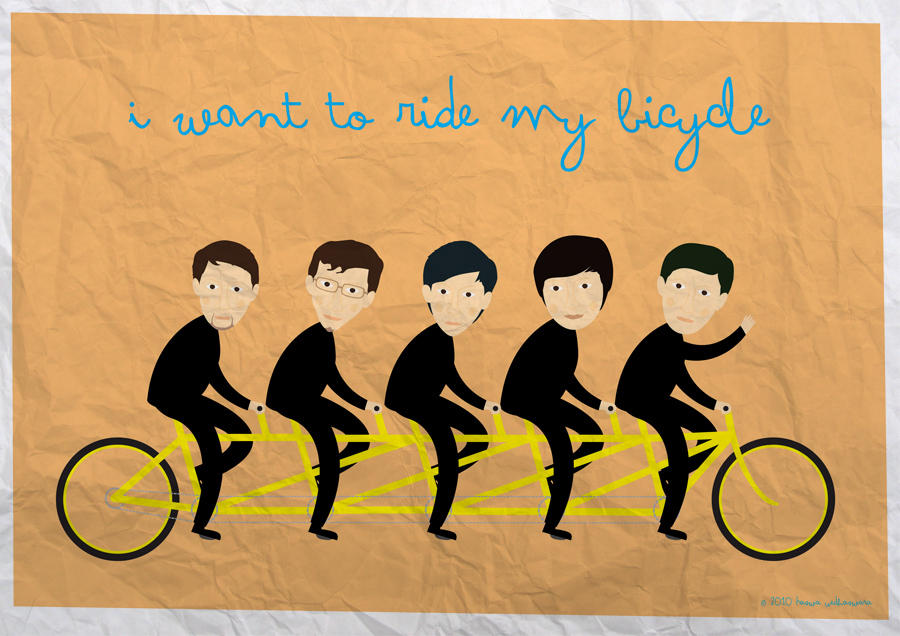 I Want To Ride My Bicycle By Haswa On Deviantart