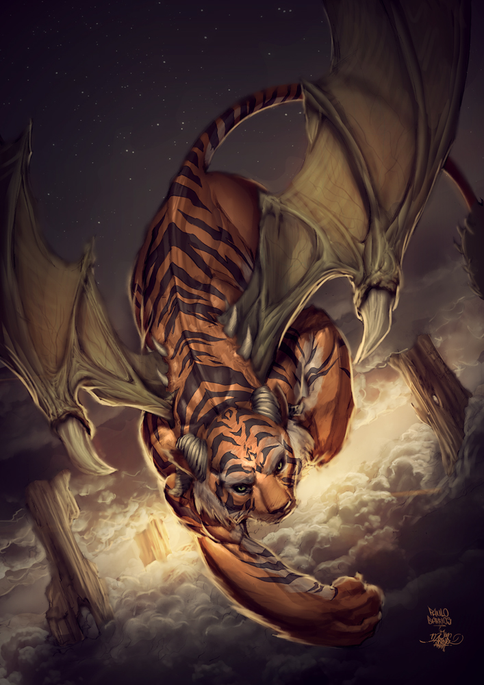 tiger dragon inferno card game by paulobarrios