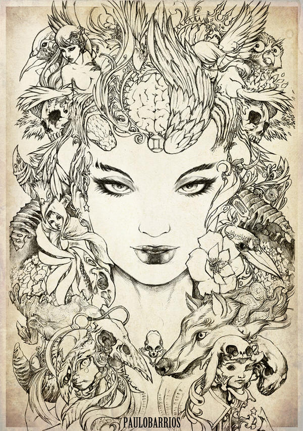 lady paradox by paulobarrios on deviantart