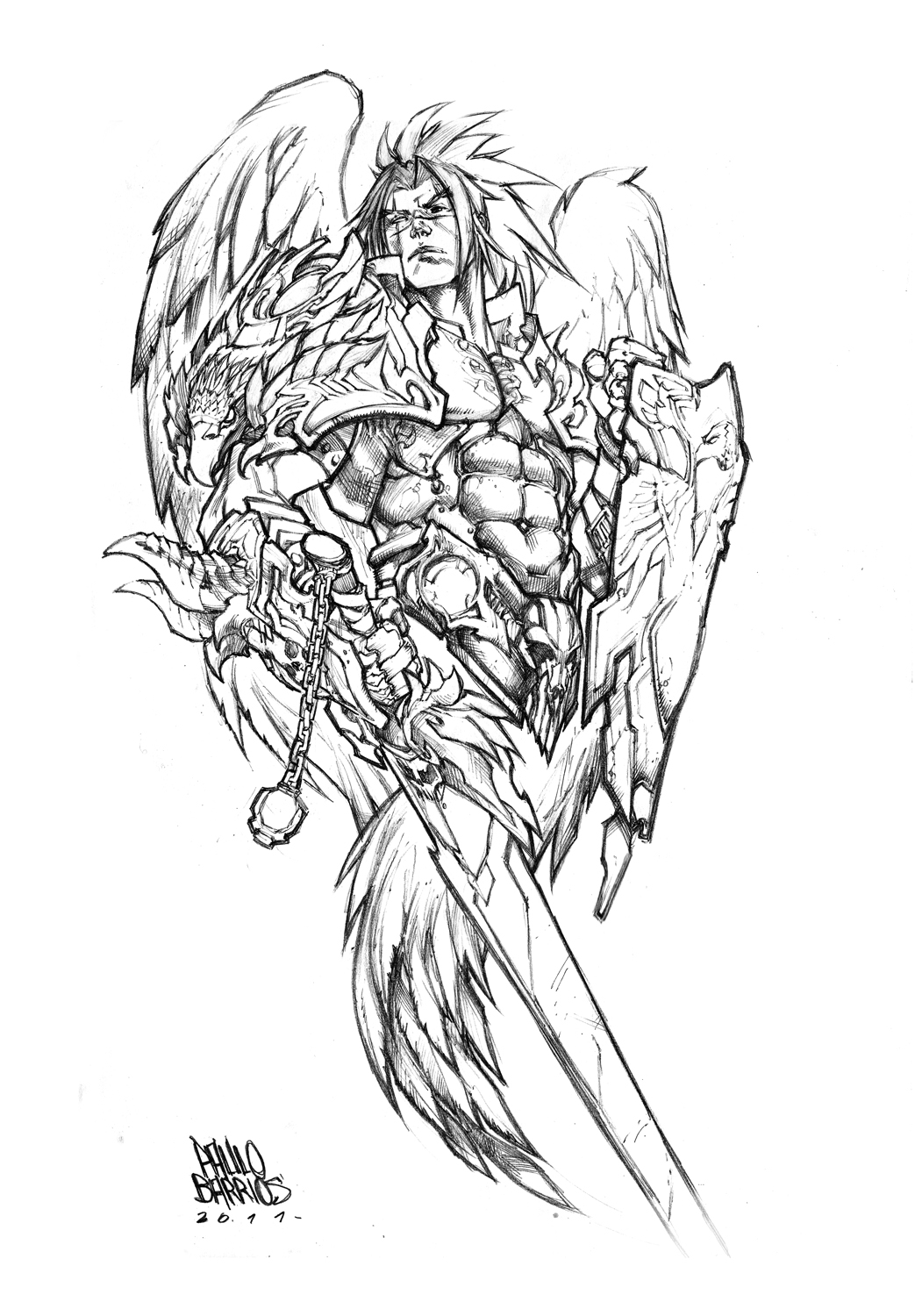 Warrior Angel by paulobarrios on DeviantArt