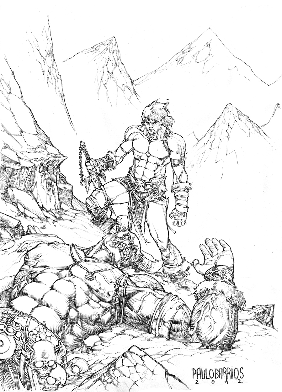 savage sword by paulobarrios