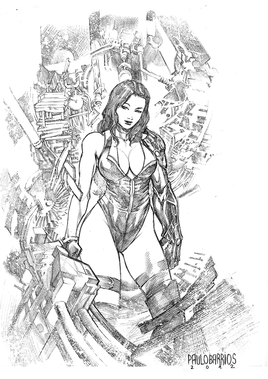 She-Hulk by paulobarrios
