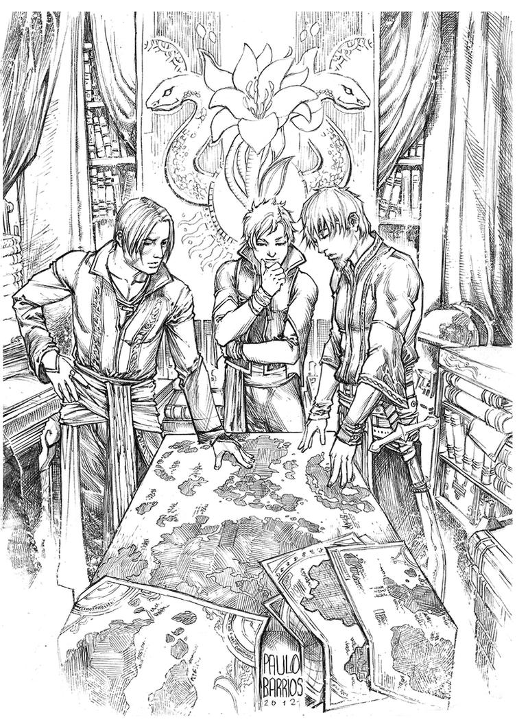 three kings by paulobarrios