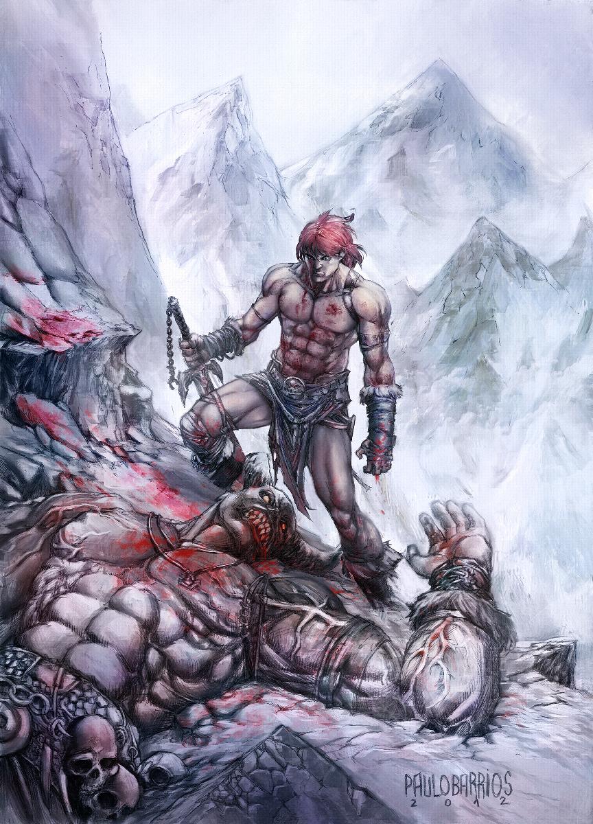 savage sword by paulobarrios