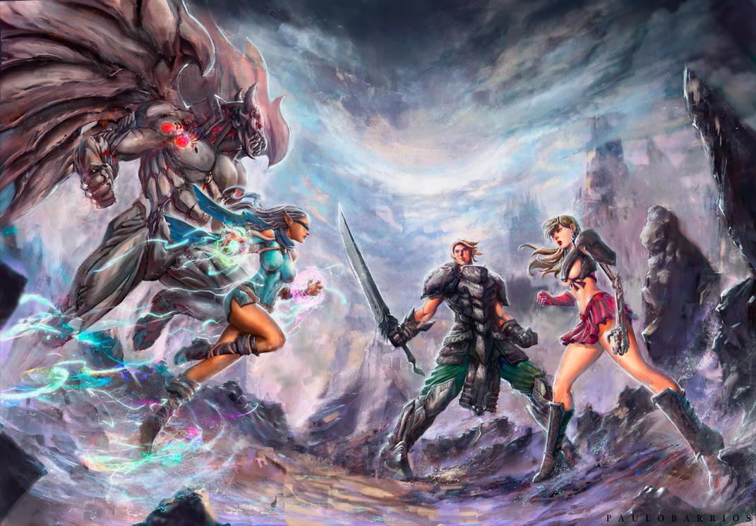 Final Battle by paulobarrios
