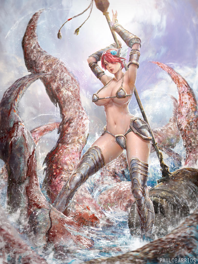 fantasy girl by paulobarrios