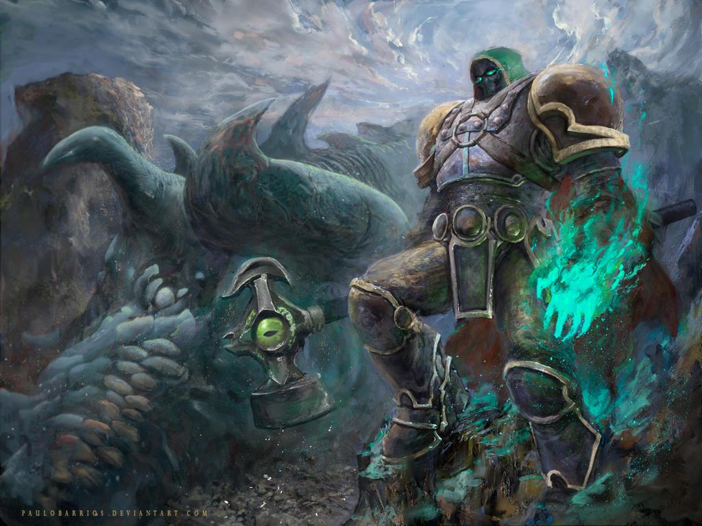 Lord Hammerfall by paulobarrios