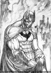 Batman by paulobarrios
