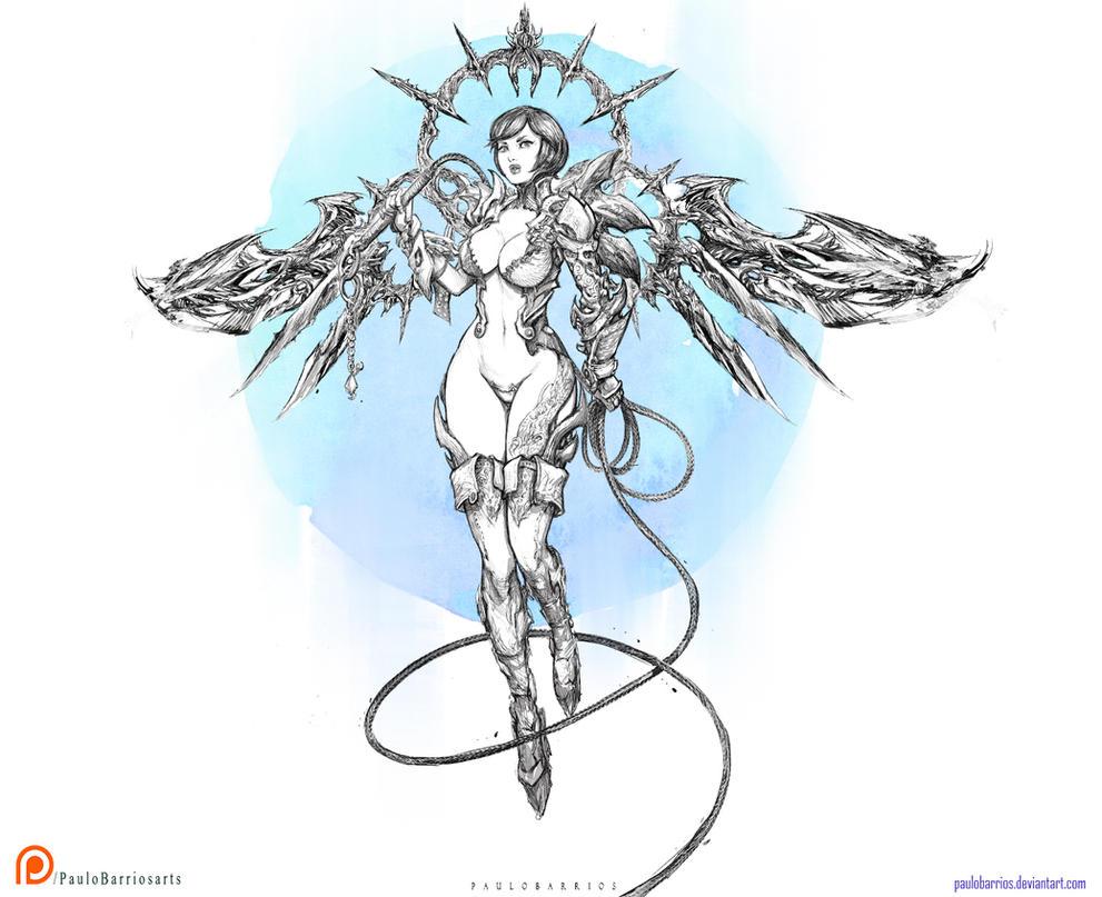 DARK ANGEL by paulobarrios