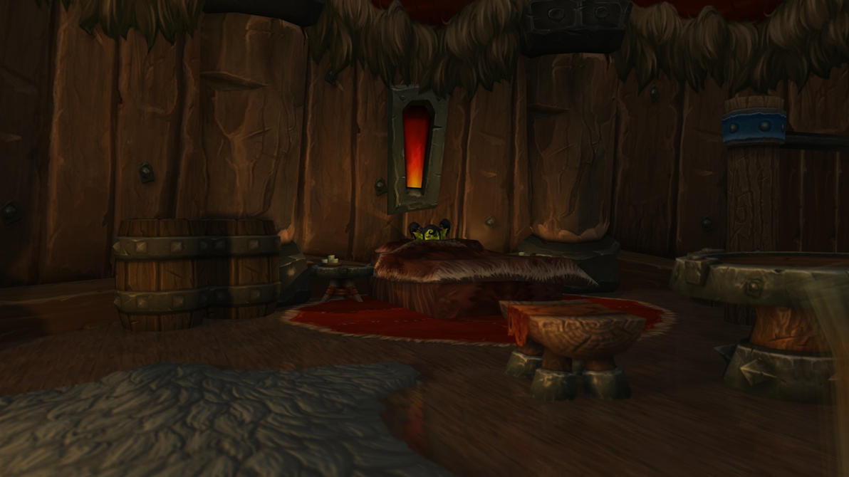Goblin in orc hut by Khubbo