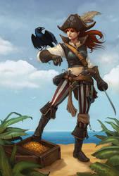 Pirate by Sidxartxa