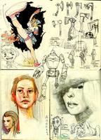 Sketch book. by Sidxartxa