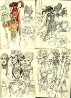Sketch book 2. by Sidxartxa