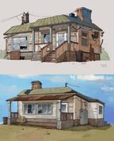 Postal 3 concept art by Sidxartxa