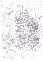 Dharma Boat sketch 2 by Sidxartxa