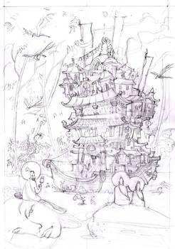 Dharma Boat sketch 2