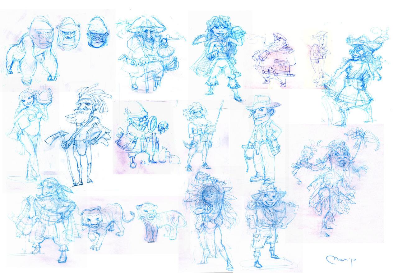 sketches by Sidxartxa