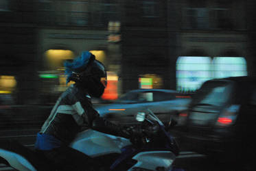 Night Rider by Sidxartxa
